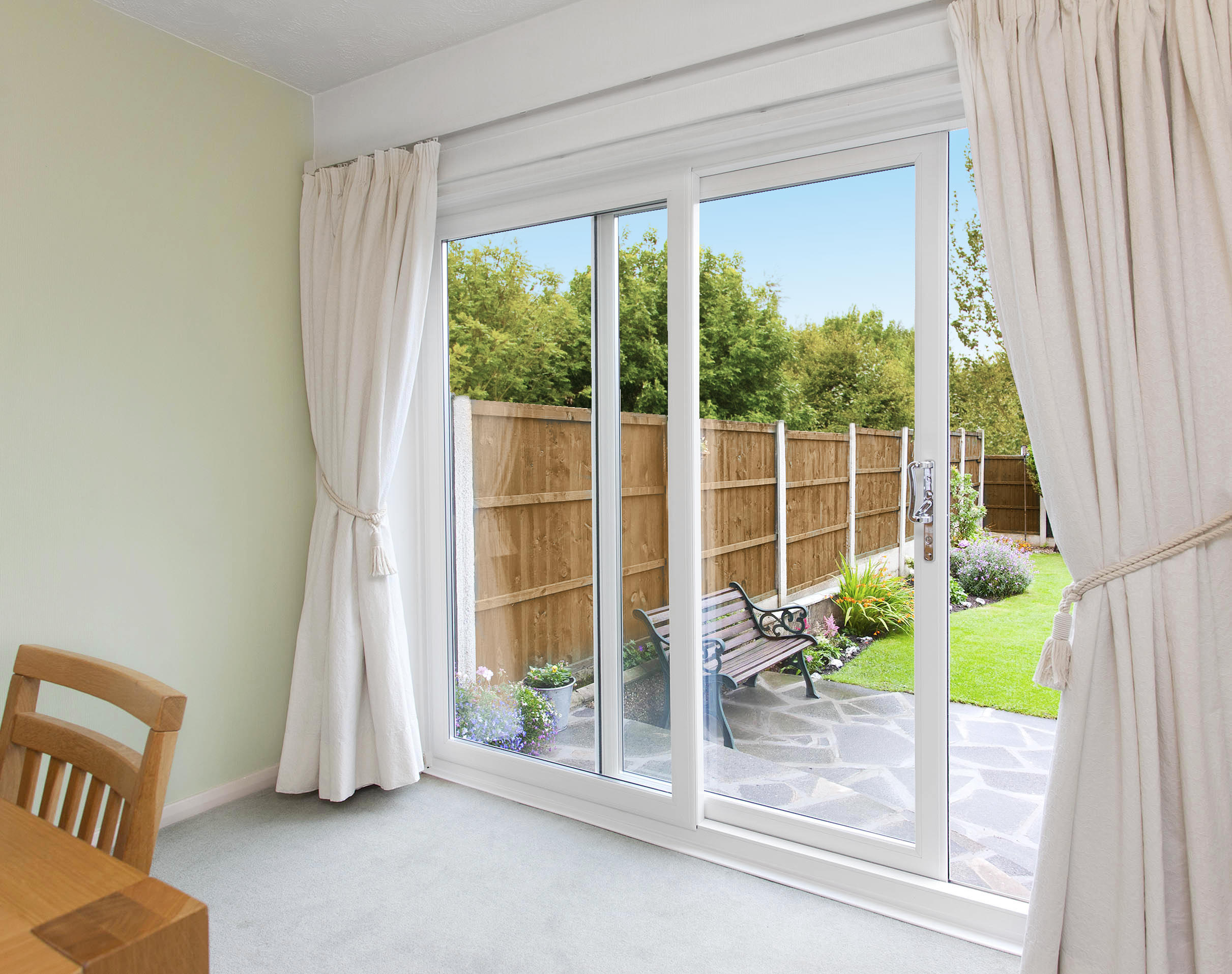 Patio door prices patio doors kent upvc doors for Double entry patio doors